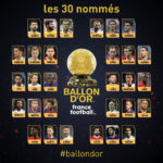 BREAKING !!!: Messi missing from list as first set of nominees for Ballon d' or is released (see full list)