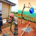 LORD !!!: How is this happening in 2019? Lol. Enugu First Lady, Monica Ugwuanyi commissions tippy taps for primary school pupils (photos)