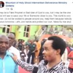 BREAKING !!!: I May Be A Fake Or Bad Man Of God, But God Can Use Me For You – Prophet Emeka Odumeje Says